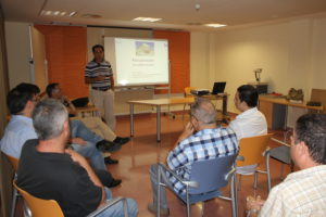 Visit of co-reponsors of Euroempleo Mental Health Project to Area IV-Northwest Region of Murcia